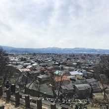 鶴ヶ城が見えました