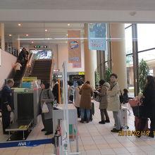 ANA羽田行が1日5便のみの小規模空港