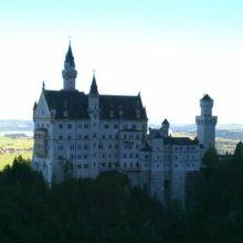 ノイシュバンシュタイン城の写真はこから