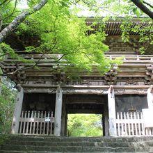 竹林寺仁王門