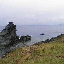 石垣島西部の岬