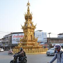 チェンライの時計塔