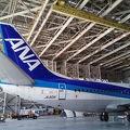 写真:ANA機体メンテナンスセンター