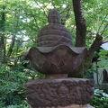 写真:井の頭の石造物群