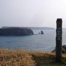 ゴメ島、小島、嶮暮帰島を一望』...
