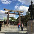写真:豊臣秀吉公銅像