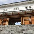 写真:甲府城 鉄門跡 銅門跡