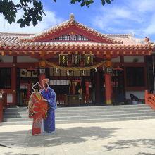 沖縄らしい神社