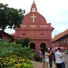 マラッカ観光の中心
