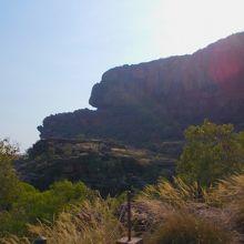 アボリジニの岩絵がすばらしい