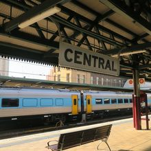 とても大きな駅でした。