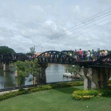 人人人な戦場にかける橋「クウェー川鉄橋」