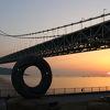 明石海峡大橋を見るために訪問しました