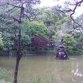 写真:日比谷公園 鶴の噴水