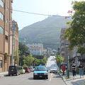 写真:函館の坂