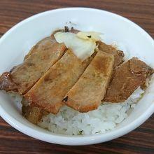 まさに日本の焼肉丼