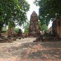 写真:ワット プラ マハタート 五体満足の仏像
