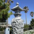 写真:江の島弁天橋 龍燈