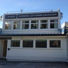 ベルゲンとオスロの中間にあるフィヨルド巡りに便利な小さな空港