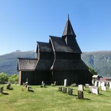 世界遺産に登録されている現存する木造教会で最古、不便だけど行く価値あり