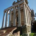 アントニヌスピウスとファウスティーナ神殿