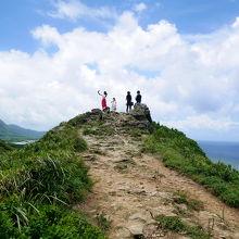 小山に登る