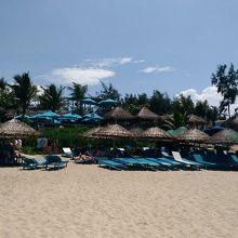 ホイアン市街から車で15分ほどの素敵なビーチ