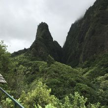 神々しい渓谷