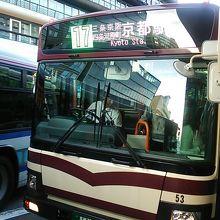 2018年5月20日の出町柳17時17分発京都駅の様子
