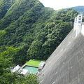 写真:小河内ダム