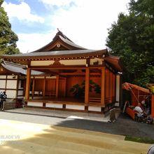 阿佐ヶ谷駅から直ぐ近い神社