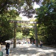 熱田神宮三の鳥居