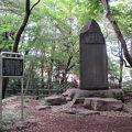 写真:松本訓導殉難の碑