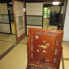 藩政時代の古い武家屋敷で見応えがあった。