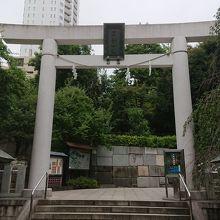 乃木希典将軍夫妻をお祀りしている神社です。