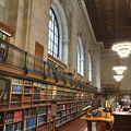 写真:ニューヨーク公共図書館