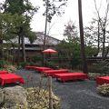 写真:金閣寺不動釜茶所