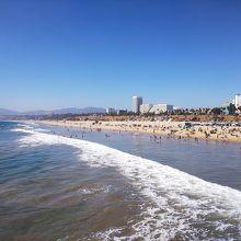 砂浜は広い
