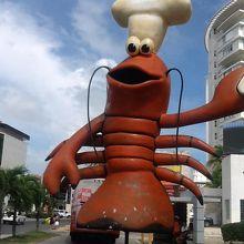 海沿いのレストランです。