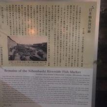 「日本橋」の北側にひっそりと・・