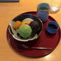 写真:明治神宮文化館 軽食コーナー