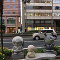 写真:アンパンマン バイキンマン石像