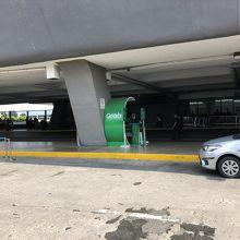マニラ空港Grabタクシー