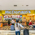 写真:マクドナルド 成田空港第2ターミナル店