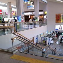 空港から岡山駅までのバス有り