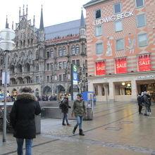 ミュンヘン観光の起点