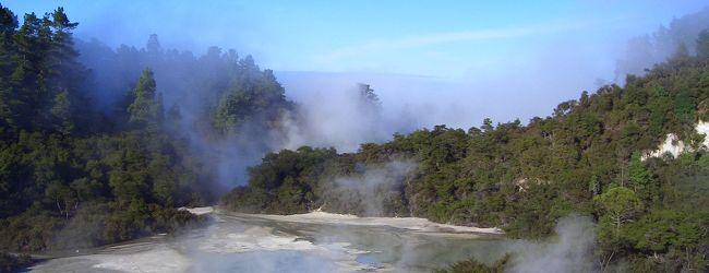 ニュージーランド北島ドライブ(3) ロトル...