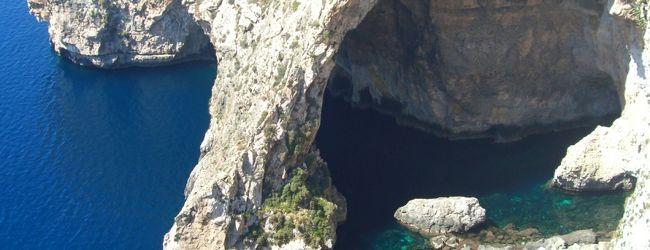 地中海リゾート マルタ(青の洞窟 Blue G...