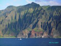 「プライド・オブ・アメリカ」乗船記、7日目カウアイ:ナパリコースト