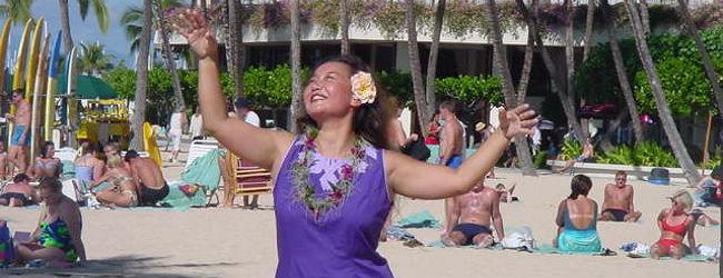 一度は「ハワイ旅行へ!」